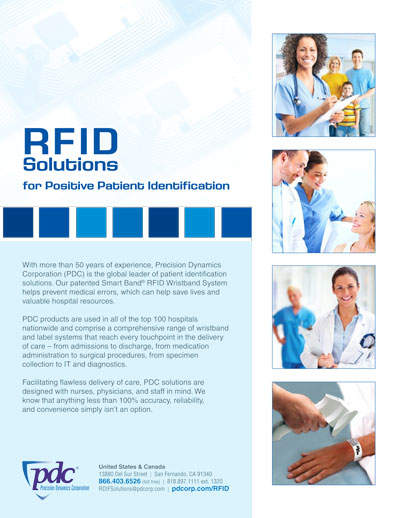 Healthcare RFID Solutions