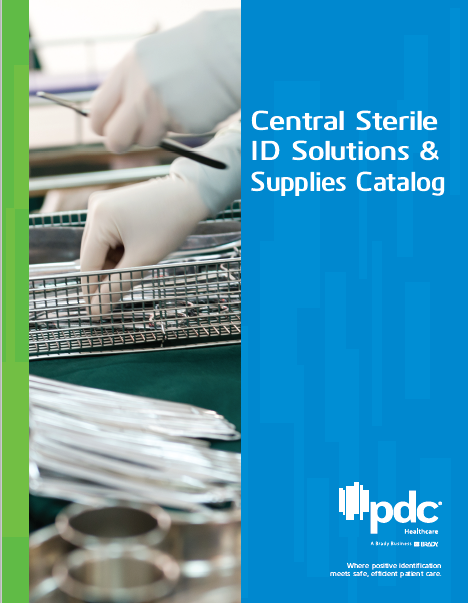 Central Sterile ID Solutions & Supplies Catalog