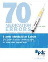 Sterile Medication Labels Brochure