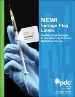 Syringe Flag Labels Brochure
