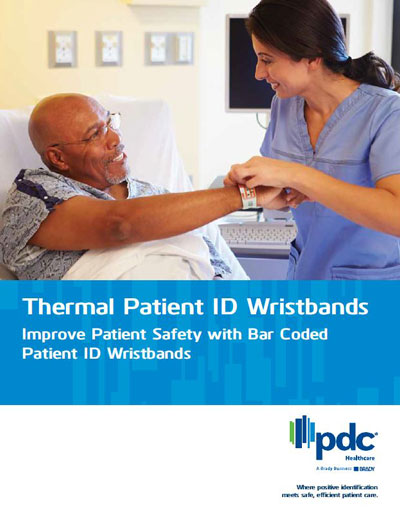 Thermal Patient ID Wristbands Brochure