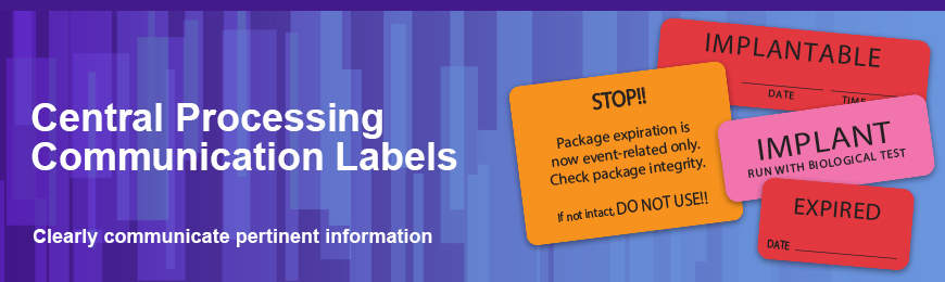 Central Processing Communication Labels