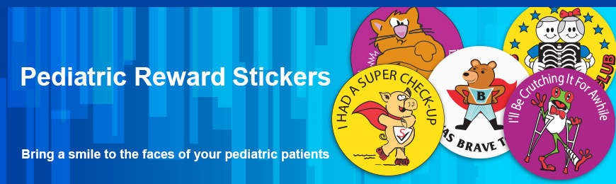 Pediatric Reward Stickers