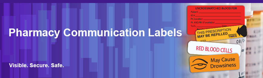 Pharmacy Communication Labels