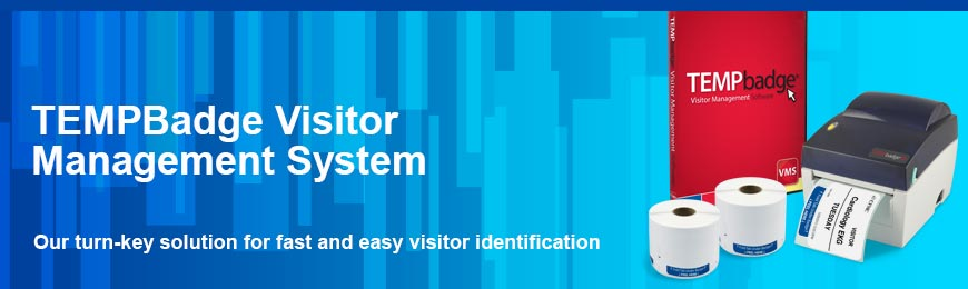 TEMPBadge® Visitor Management System