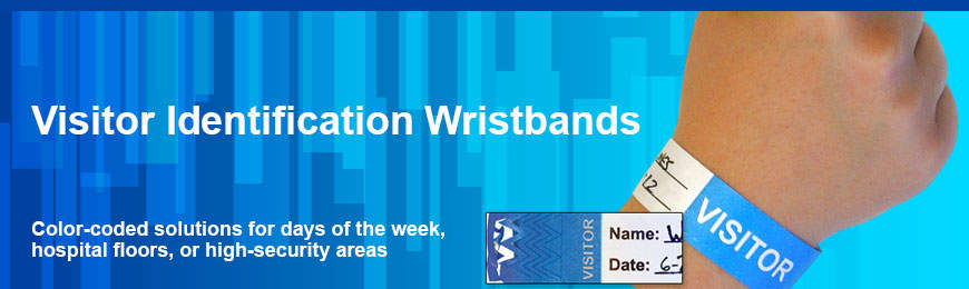 Visitor Identification Wristbands