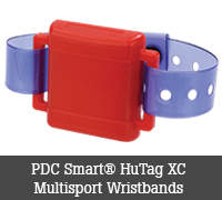 PDC Smart® HuTag XC Multisport Wristbands