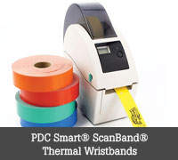 PDC Smart® ScanBand® Wristbands