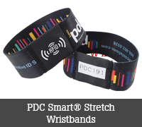 PDC Smart® Stretch Wristbands