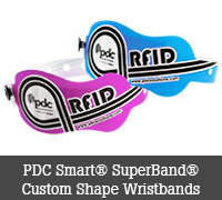 PDC Smart® SuperBand® Custom Shape Wristbands