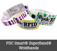 PDC Smart® Superband® Wristbands
