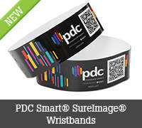 PDC Smart® SureImage® Wristbands