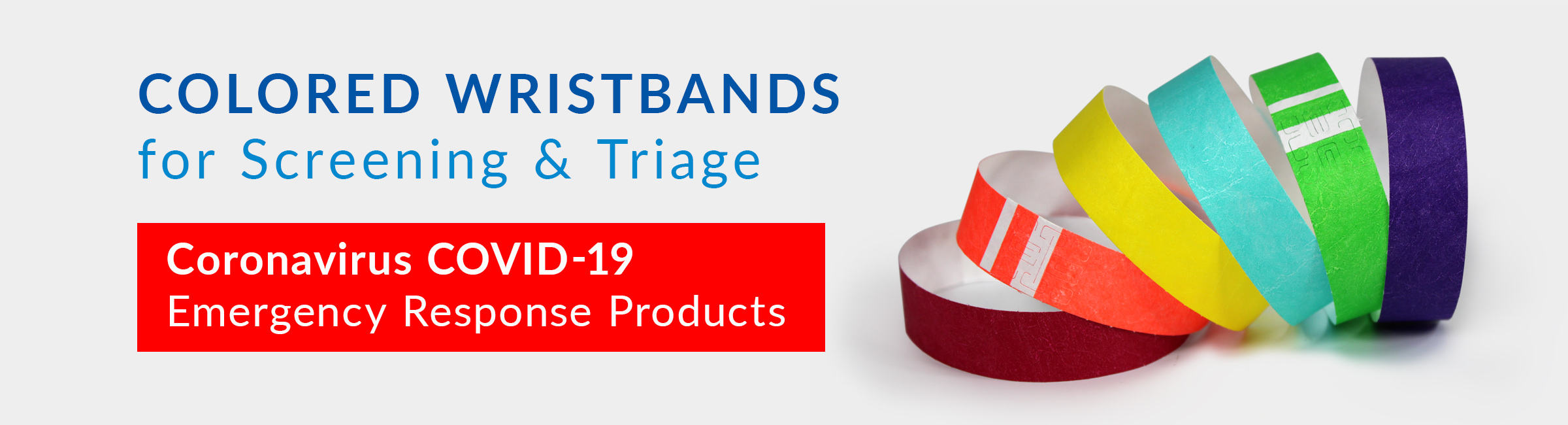 Write-On & Short Stay® Wristbands