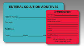 PDC Custom Labels - Custom Imprinted Labels