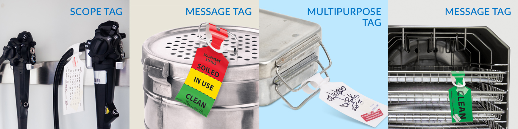 Tray & Scope Tags