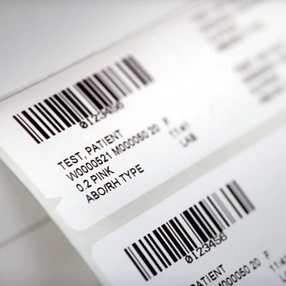 LIS Specimen Labels