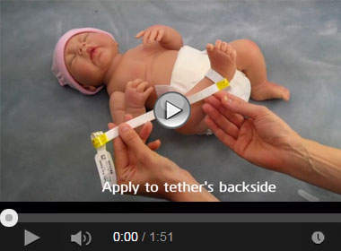 How to Apply the Conf-ID-ent Newborn ID Tag and TenderCare® Infant Tether