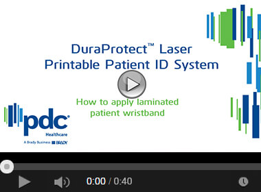 How to Apply the DuraProtect™ Laser Print Patient ID Wristband