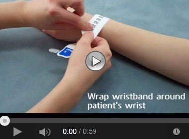 How to Apply the DuraSoft® Laser Patient ID System with Adhesive Closure