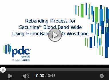 How to Apply the ComfortBand™ Plus Wristband