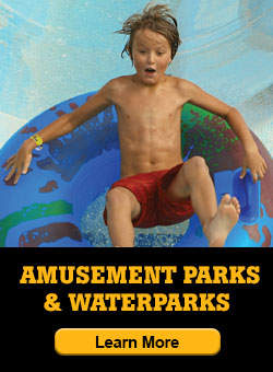 amusement parks and waterparks