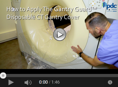 How to Apply The Gantry Guard™ Flex Disposable CT Gantry Cover