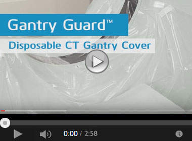 How to Apply the Gantry Guard &rtrade; Disposable CT Cover
