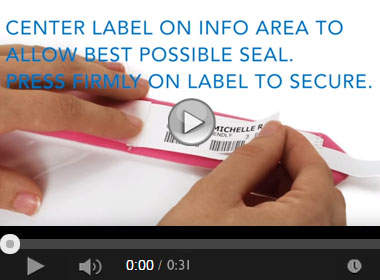 How to Apply the Sentry® Bar Code LabelBand®