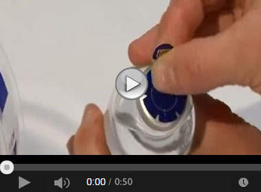 How to Apply Steri-Tamp® Vial Seals