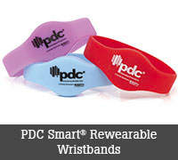 PDC Smart Rewearable Wristbands
