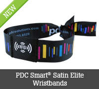 PDC Smart® Satin Elite Wristbands