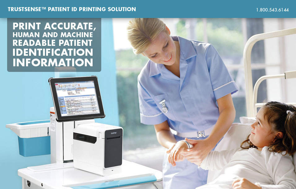 Print Accurate, Human and Machine Readable Patient Identification Information