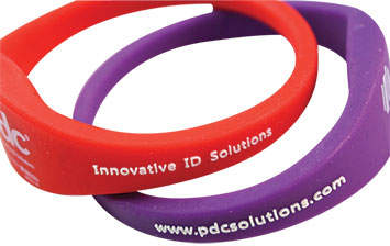 PDC Smart® Rewearable Wristband Embossing