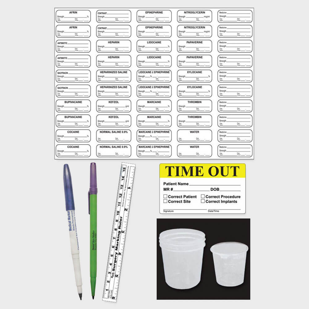 Sterile Label Kits