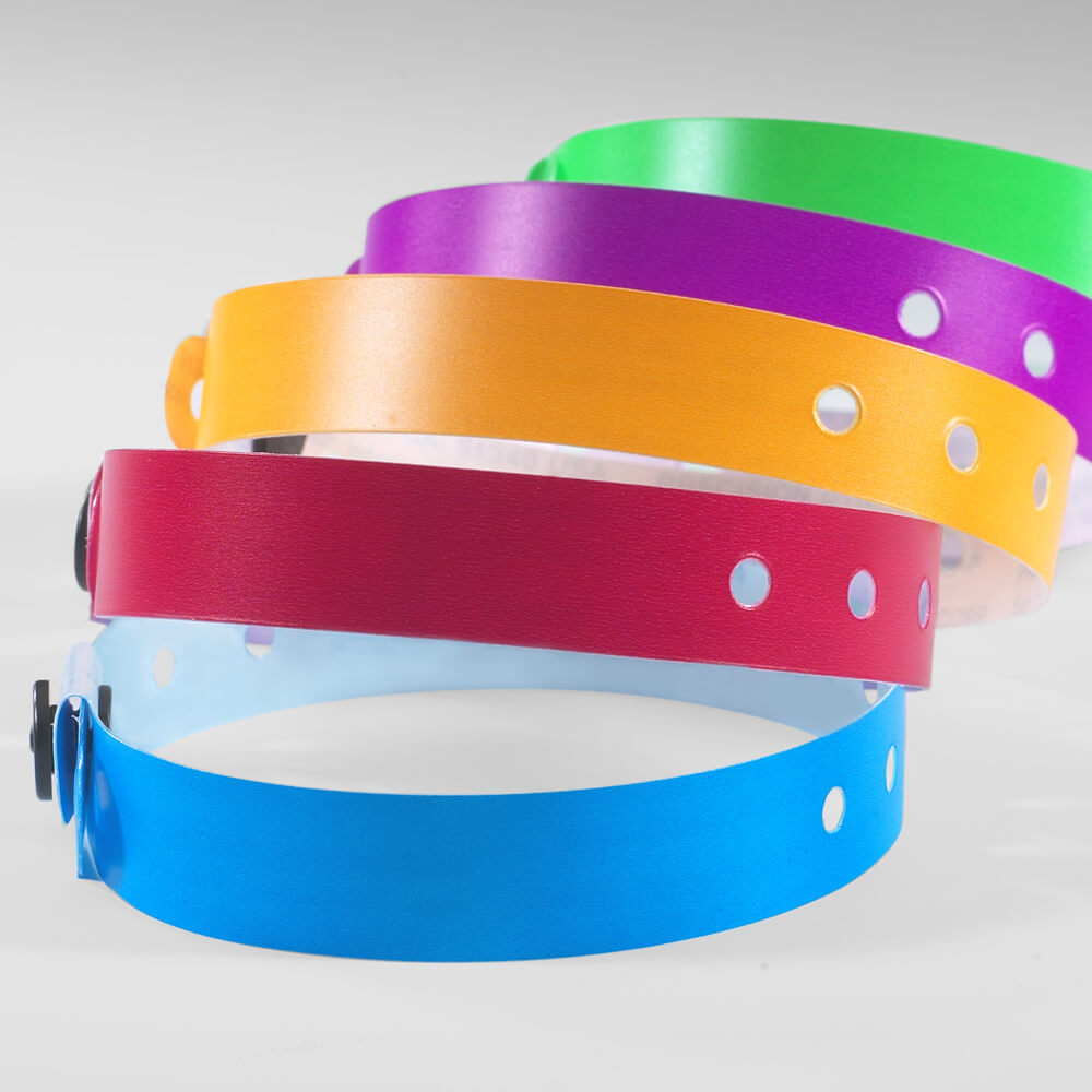 "Sentry® SuperBand 1/2"" <br/> Wristbands - 13 colors"